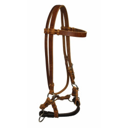 Side Pull - Softie Braided Double Noseband