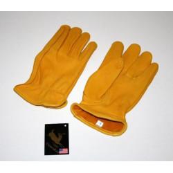 Rękwiczki z jeleniej skóry