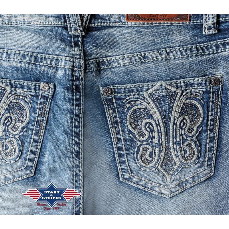 Spodnie damskie Stars&Stripes - Kinghorse.pl