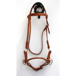 Side Pull - Single Leather Noseband