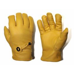 Rękawiczki robocze ocieplane flanelą